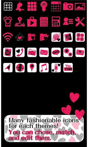 Cute Wallpaper Graffiti Hearts 1.4 Windows u7528 4
