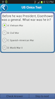 Screenshot of US Civics (Citizen) Test Pro