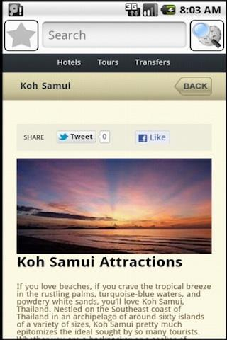 Koh Samui Travel Guide - screenshot