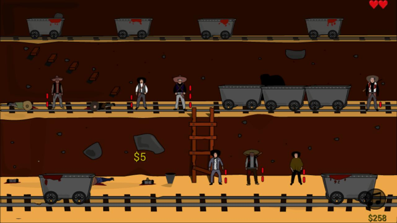 Shooting Sheriff's Gun - screenshot