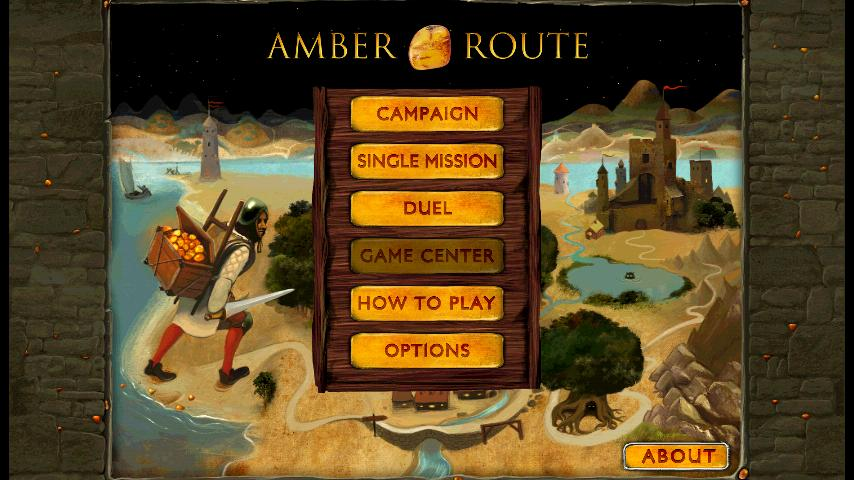Amber Route Free - screenshot