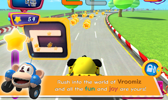 Screenshot of Vroomiz ABC Racing