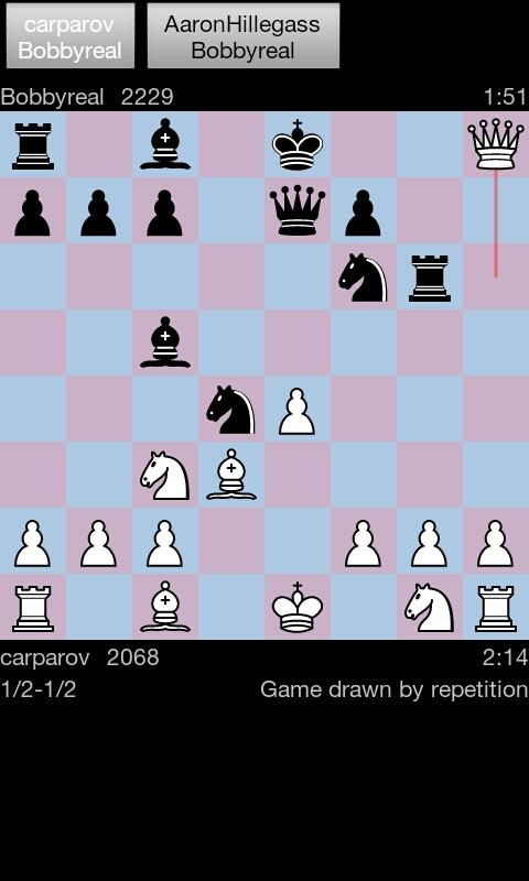 Yafi - Internet Chess - screenshot