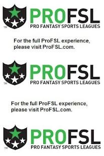 ProFSL - Pro Fantasy Sports - screenshot thumbnail