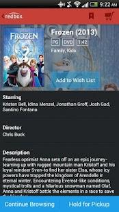 Redbox - screenshot thumbnail