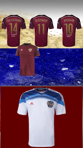 Russia 2014 Jersey Pack - uccw