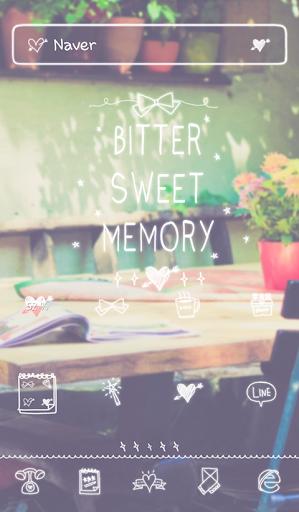 bitter sweet memory 도돌런처 테마