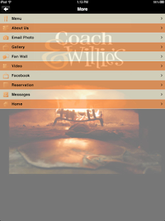 Coach & Willies- screenshot thumbnail