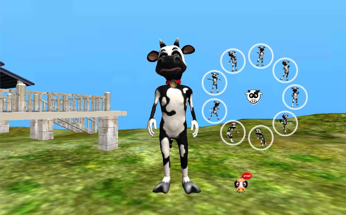 Dancing Cow - screenshot