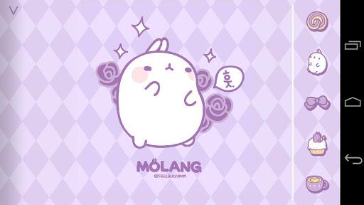 Molang Scent of Violet Atom