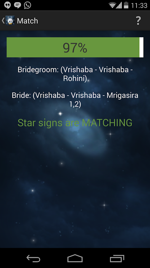Astro Hindu Matching - screenshot