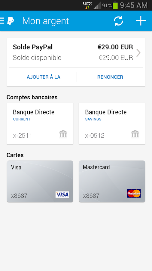 how to use paypal for google play