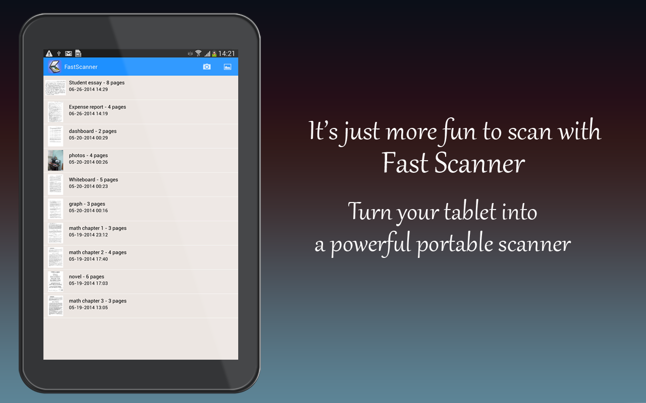 Fast Scanner : Free PDF Scan - Android-apps op Google Play