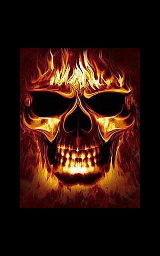 Color Hellfire Skull LWP