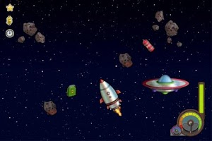 Screenshot of Fly in Space FREE