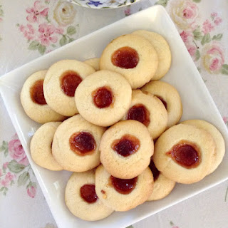 Jam Filled Butter Cookies.