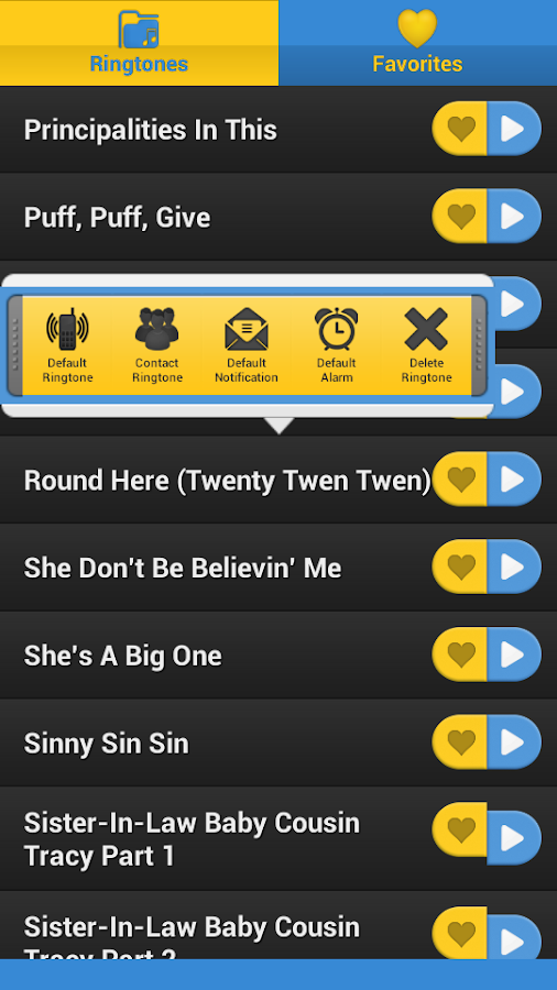 Friday SoundBoard - screenshot
