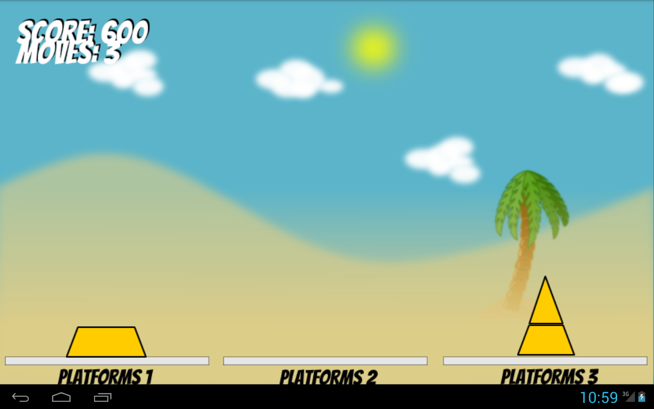 Pyramid Mover- screenshot