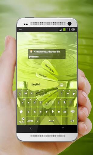 太多的綠色 GO Keyboard