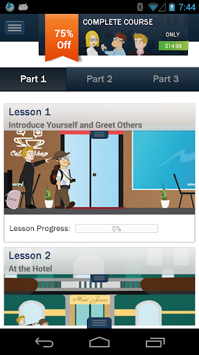 無料教育AppのHello-Hello 中国語 (電話)|記事Game