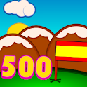 Learn spanish: 500 words icon