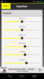 Jabra Sound (ComplementaryApp)- screenshot thumbnail