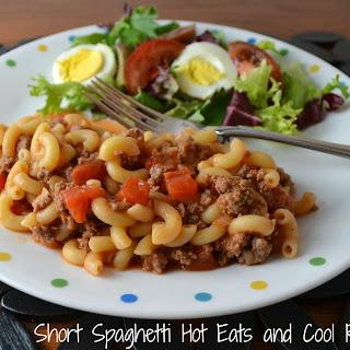 Short Spaghetti aka Goulash.
