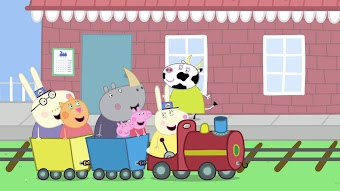 Grandpa Pig's Train to the Rescue