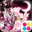 蝶夜曲-桜- for[+]HOMEきせかえテーマ icon
