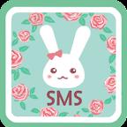 GO SMS Pro B-Rose Theme