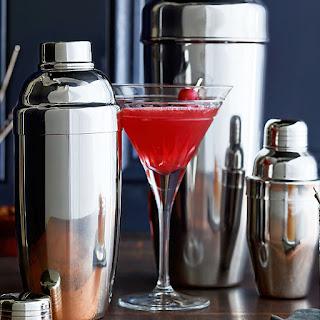 Cranberry Martinis.