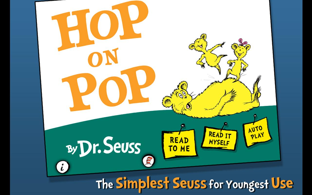 Hop on Pop - Dr. Seuss - screenshot