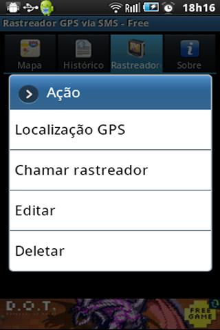 GPS Tracker by SMS - Free- screenshot