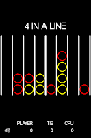 Screenshot of 4 in a Line
