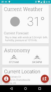 atmosHere Weather Free - screenshot thumbnail