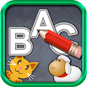 QCat write alphabet ABC (free)