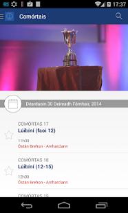 An tOireachtas screenshot