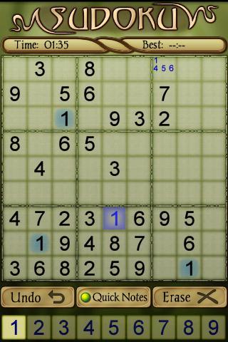 Sudoku Free 1.5 Screenshots 6