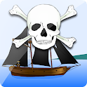 Guerre des navires pirates. icon