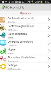 BIOSALC Mobile - náhled