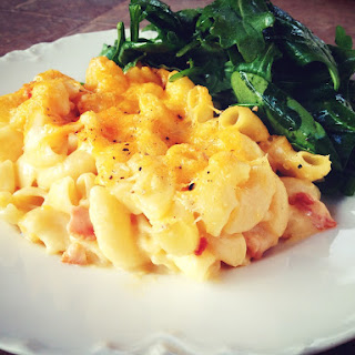 Lobster and Bacon Mac & Cheese.