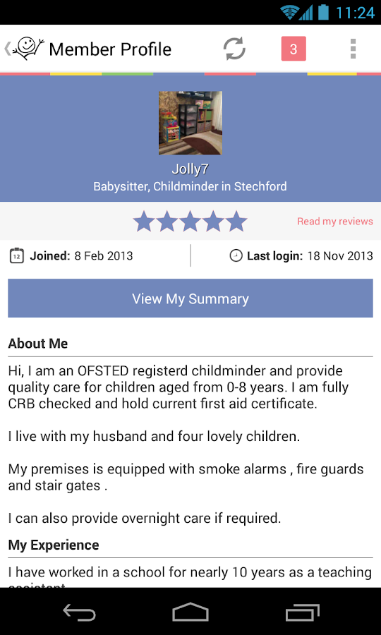 Childcare.co.uk - screenshot