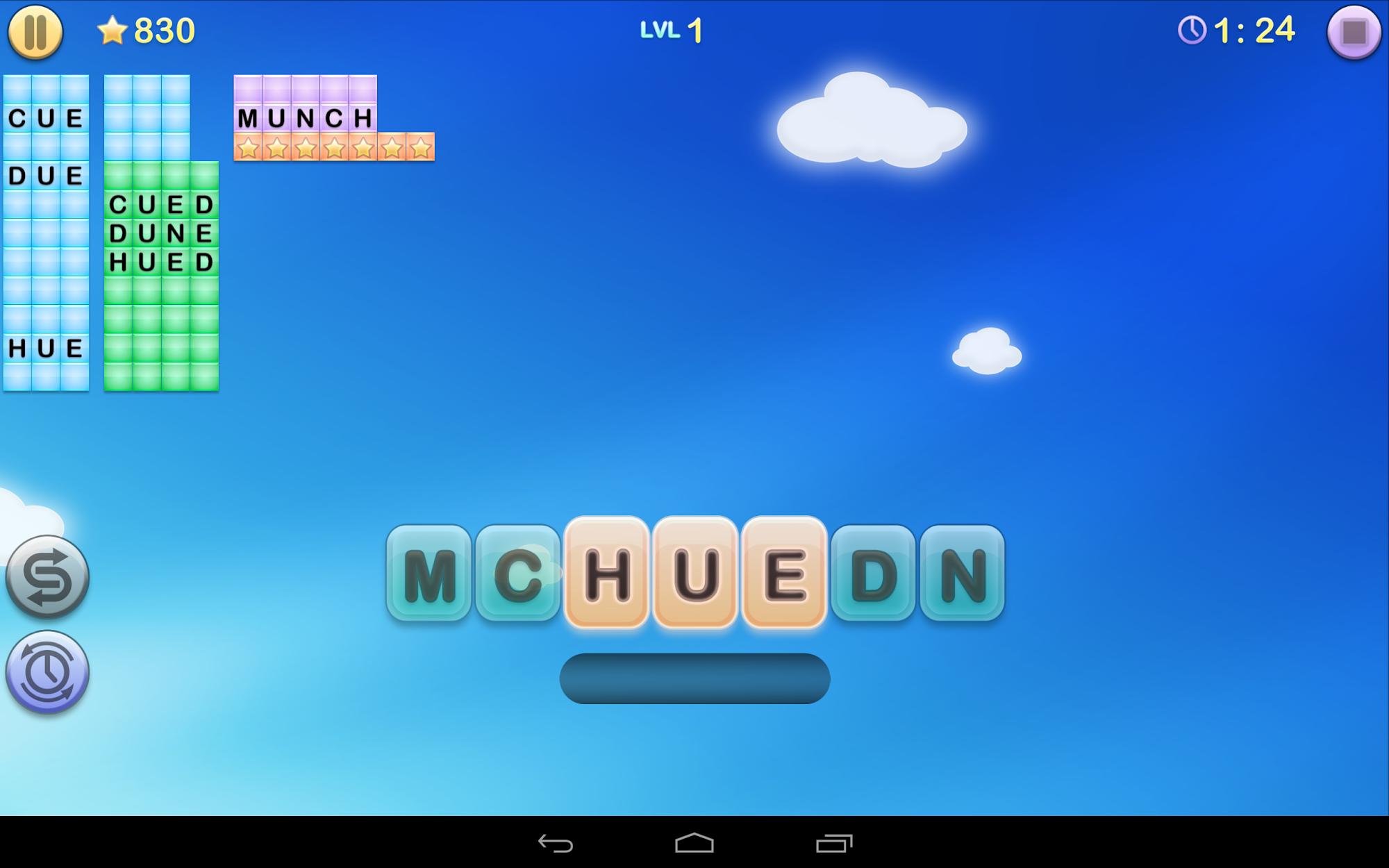 Jumbline 2 - word game puzzle screenshot #7
