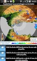 Screenshot of Info Lluvia