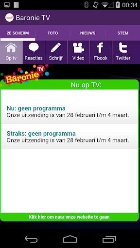 Baronie TV Tweede Scherm