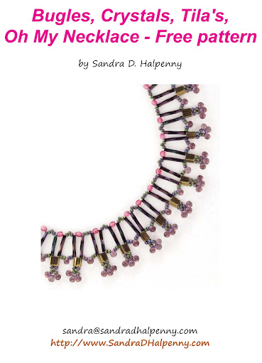 Bugles Beaded Necklace pattern