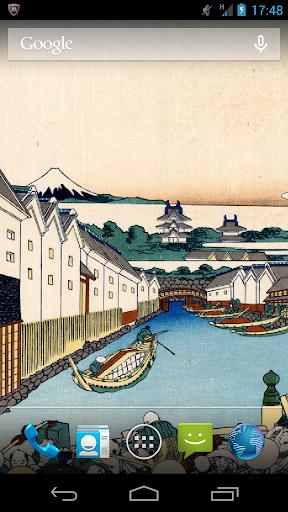 浮世絵ライブ壁紙-葛飾北斎 富嶽三十六景Vol.2
