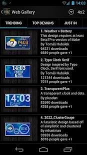 Thousand Clock Widgets - screenshot thumbnail