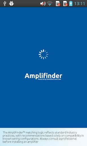 Amplifinder™