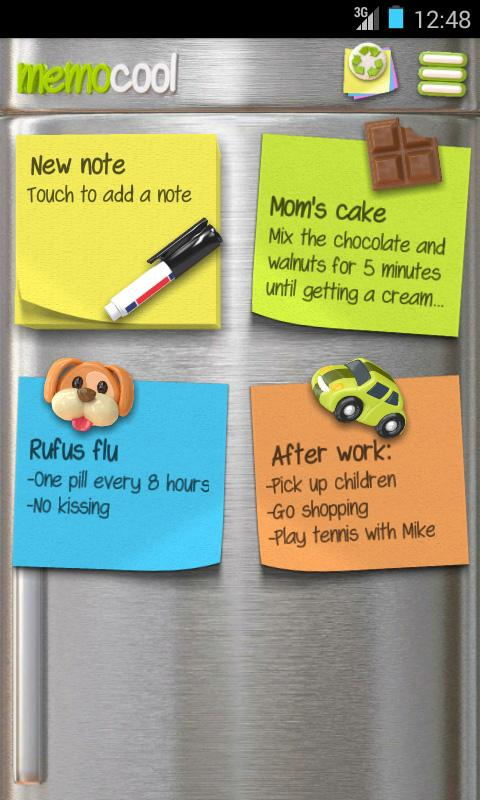 Notes - MemoCool- screenshot